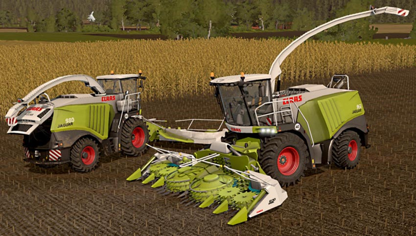 Claas Jaguar 900 Series Type 497 V 1.1