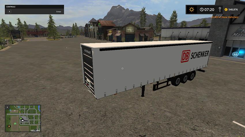 DB Schenker semitrailers V 1.0
