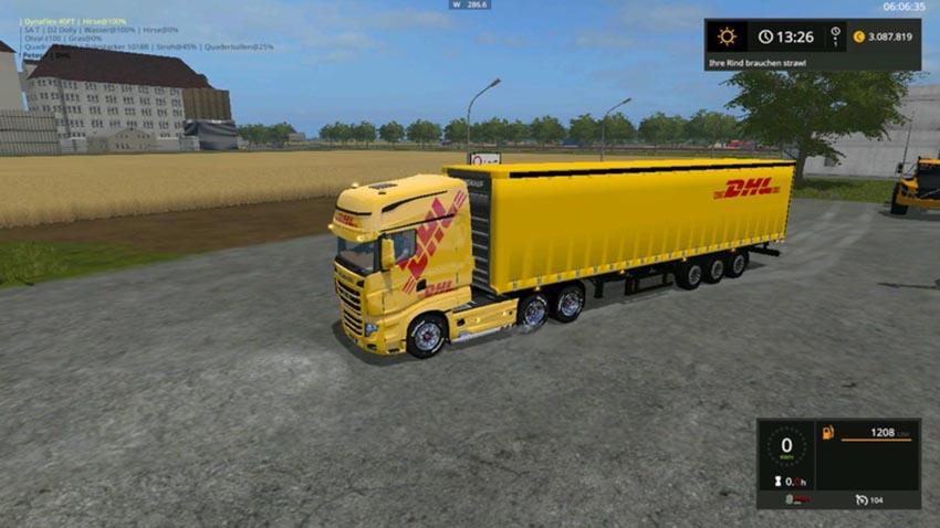 DHL semitrailers V 1.0