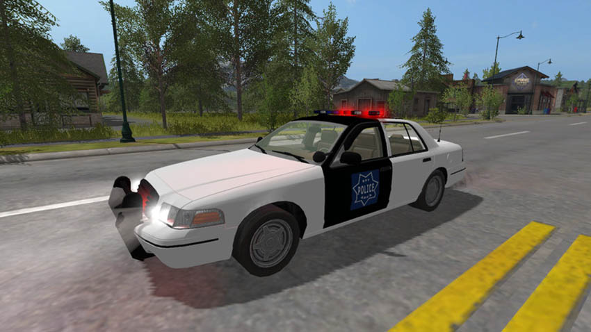 Ford Crown Victoria Police Cruiser V 1.0