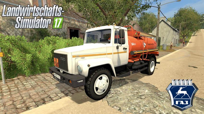 GAZ 3309 Fuel-Tanker V 1.1