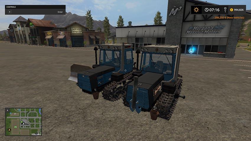 HTZ 181 and leveler V 1.0