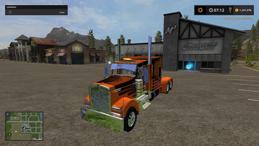 KENWORTH W900 LFT V 1.0