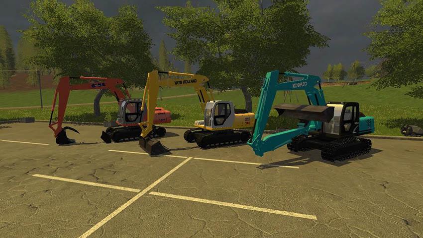 Kobelco Excavator Pack V 1.0