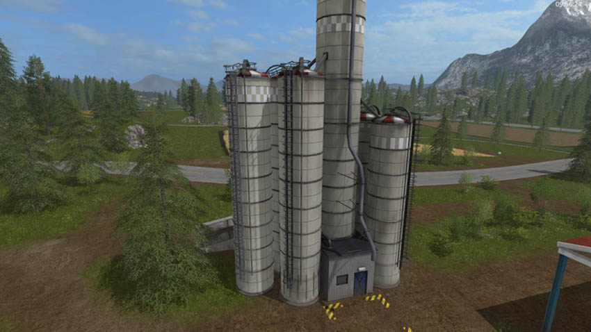 Large silo with 1mio liters capacity V 0.9 beta