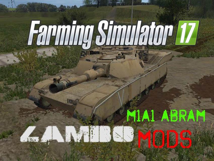 M1A1 ABRAMS TANK Pack V 1.0