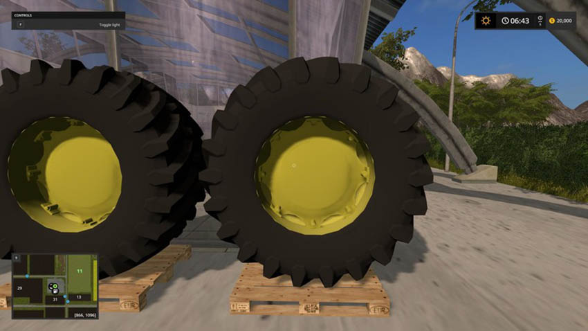 Tractor Tire V 1.0