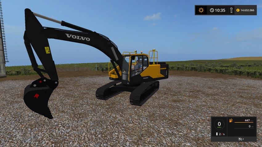 Volvo excavator EC300E V 1.0