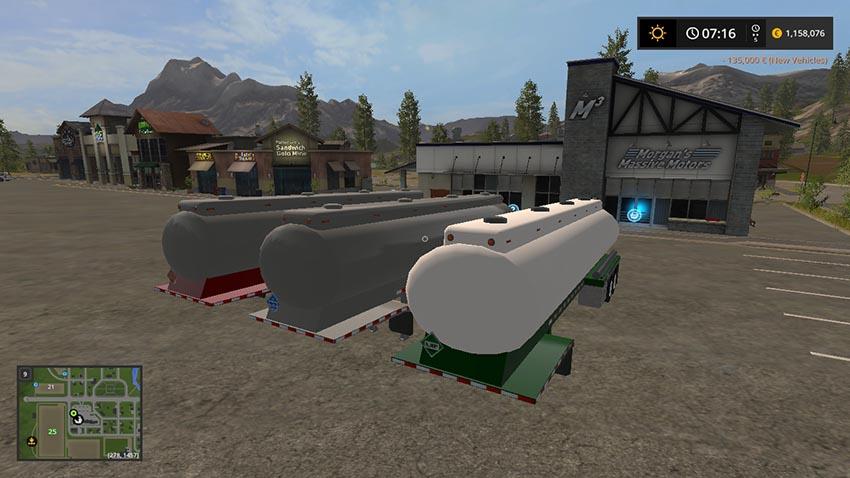 American Tanker Pack v 1.0