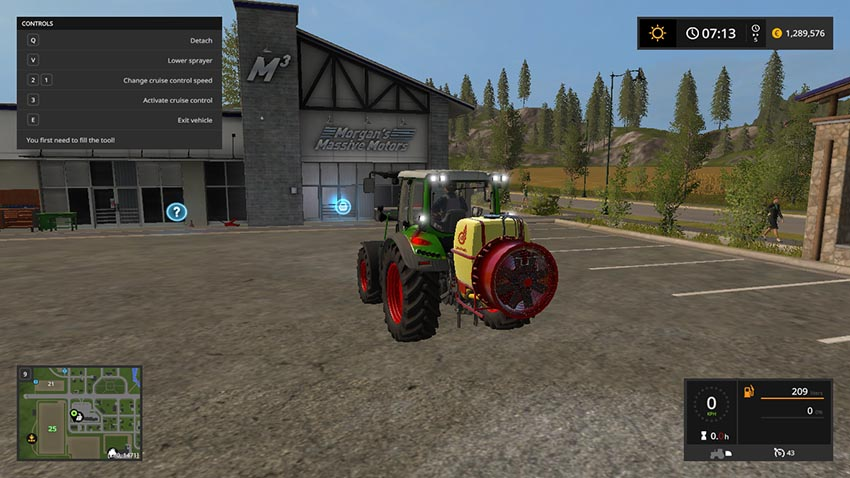 Atomizer AGP 500