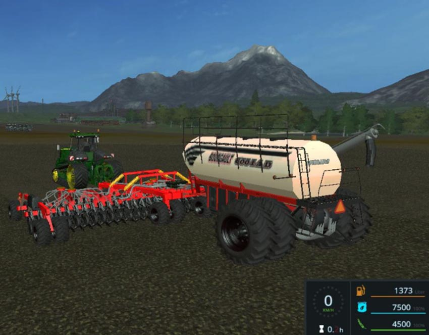 BOURGAULT IADS DIRECT DRILLING MACHINE WITH FERTILIZATION V 1.0