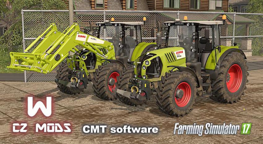 Claas Arion 600 And Axion 800 Series v 1.0