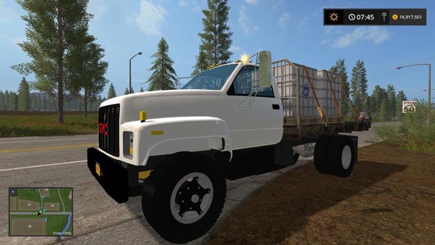 GMC Topkick Flatbed V 1.0