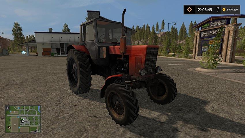 MTZ 82 Belarus v 3.0