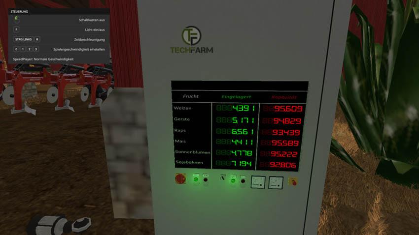 Animated control panel V 1.0