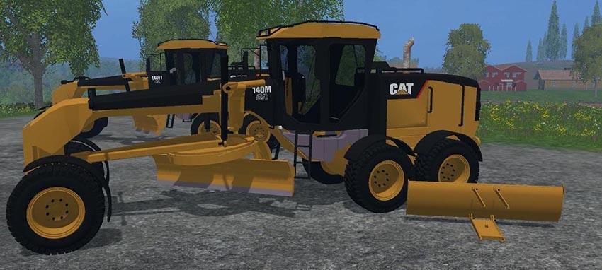 Cat 140M Road Grader v 2.0