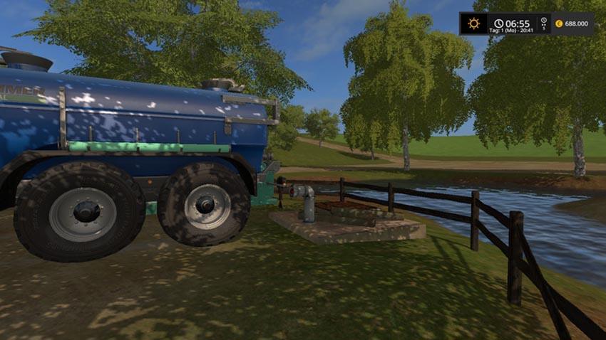 Field water hydrant V E2