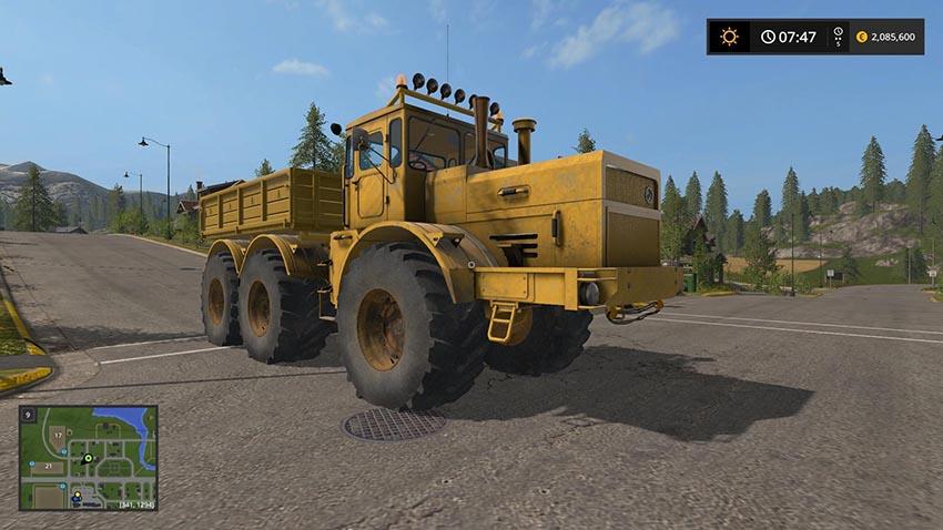 K 701 Kipper 6x6 v 1.0