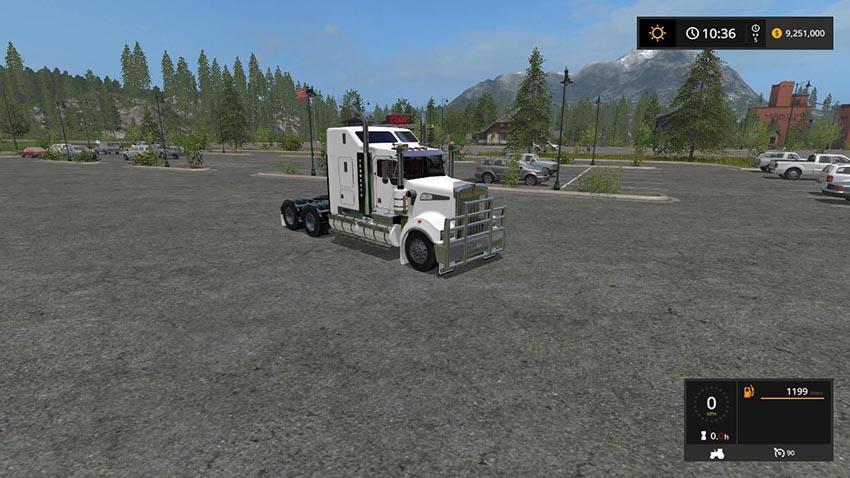 Kenworth T908 Sleeper RoadTrain Edit v 1.0