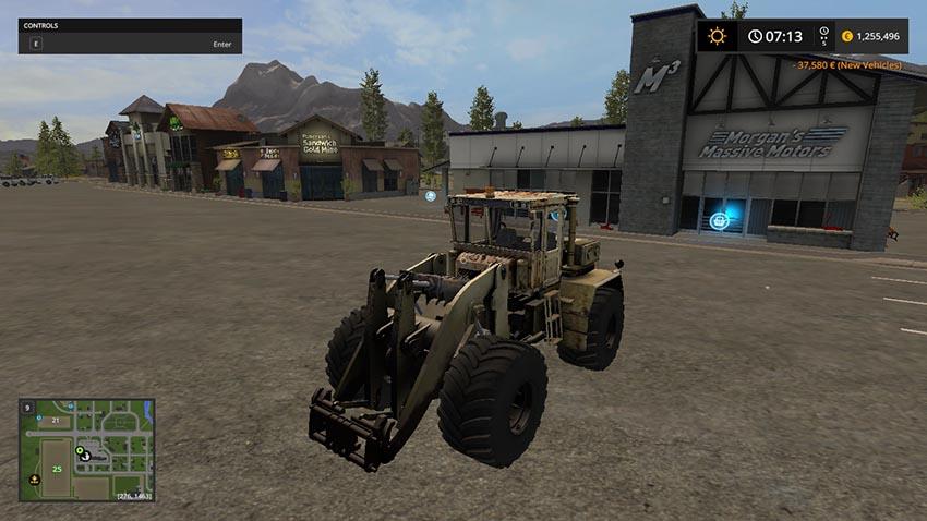 Kirovets 702 WheelLoader v 1.0