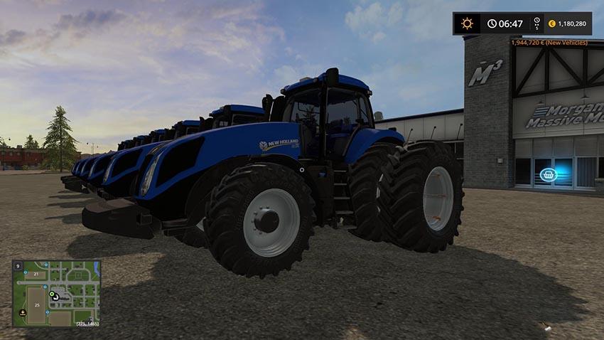 NEW HOLLAND T8 V 3.0