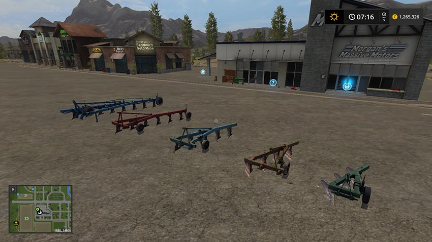 Pack plows PLN v 1.0