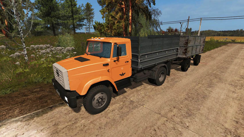 Zil 130 and Zil 45065 Pack V 1.0