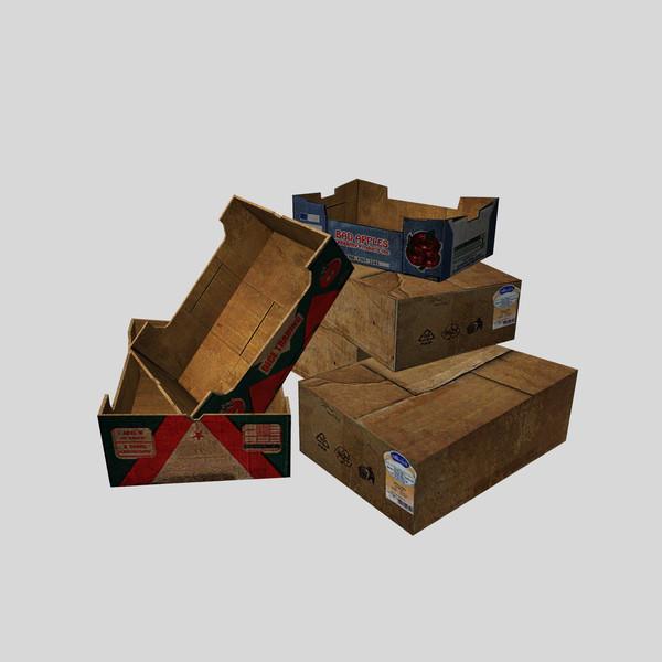 Packing boxes V E2