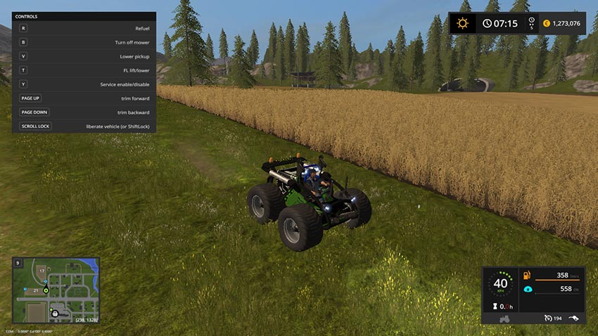 Amazone Crass Hopper V 2.0