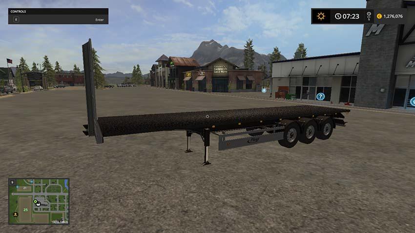 Auto Load Bale trailer