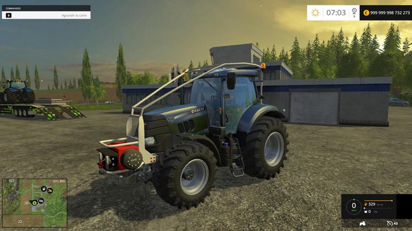 CASE IH PUMA 160BB FOREST V 0.1