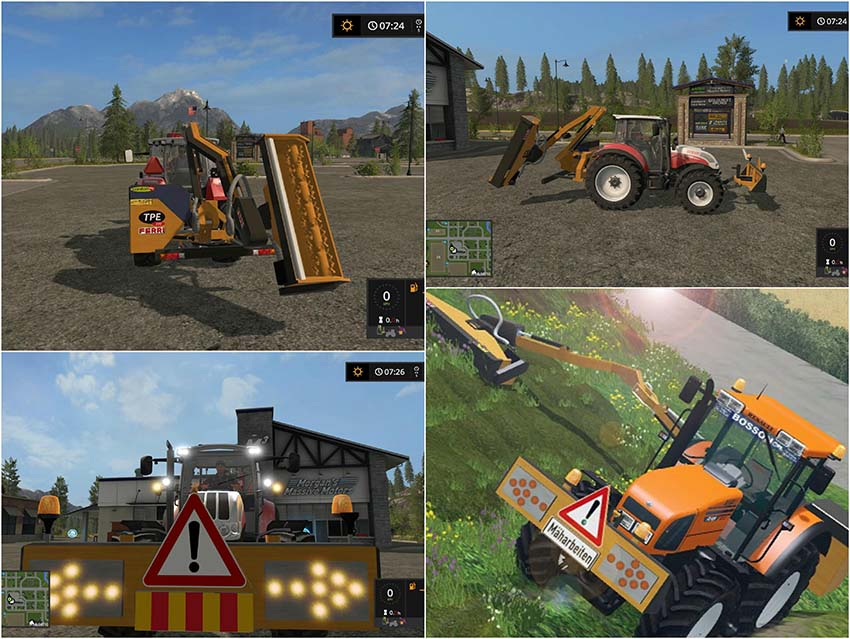 Ferri hydraulic reach mower v 1.0