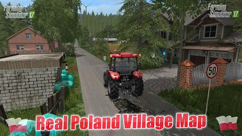 Real Poland Village Map v 2.0