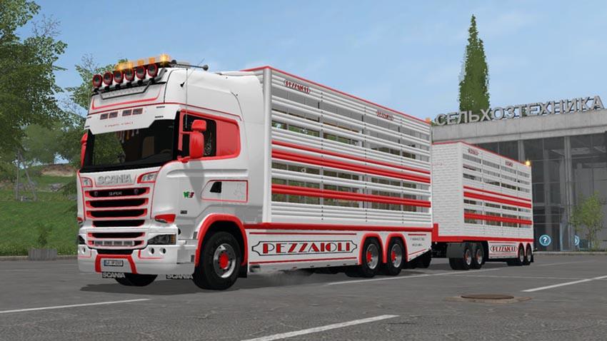 Scania R730 animal transports V 2.1