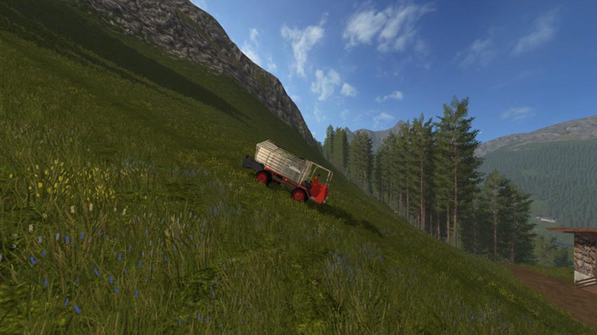 Waldhofer D22 with loading wagon V 1.0