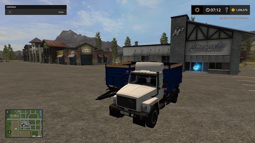 GAZ 35071 & Trailer SAZ 83173 V 1.0