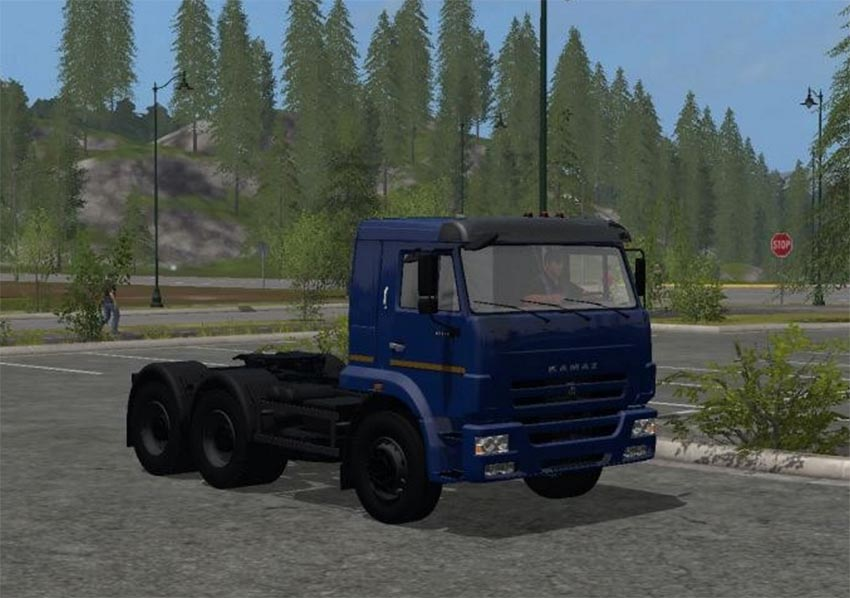 KamAZ 65116 Euro 4 V 1.2