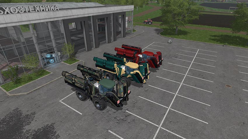 Krone Big M500 Pack v 3.0
