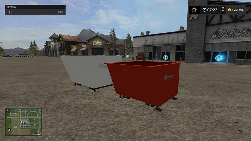 Universal Shipping Tray v 1.0