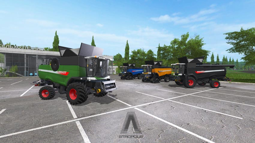 Fendt 9490 X More Realistic V 1.0
