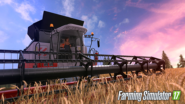 Farming Simulator 2017 with female characters