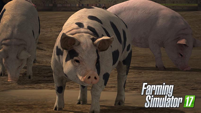 Farming Simulator 17 - Animals