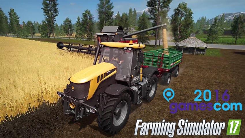 Farming Simulator 2017 Gamescom 2016 Trailer