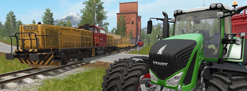 Farming Simulator 17 Trains