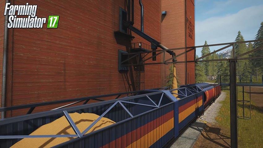 Farming Simulator 17 Trains