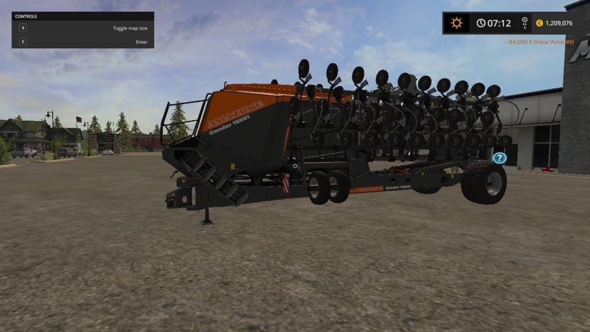 Amazone Condor Multi-Seeder v 1.0