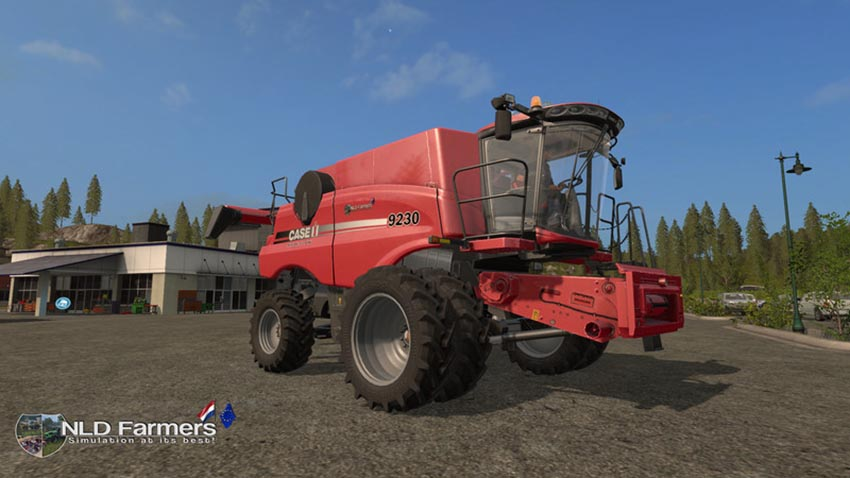 Case IH230 Axial Flow 9230 Combine Pack v 1.2