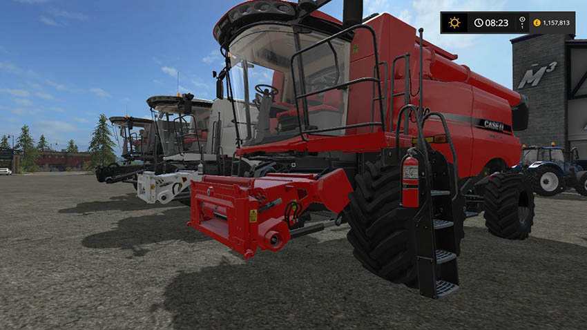 CaseIH Combine and Cutter pack