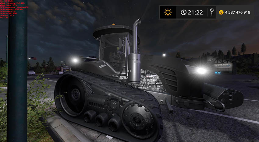 Challenger MT775E Stealth farming gold v 1.0