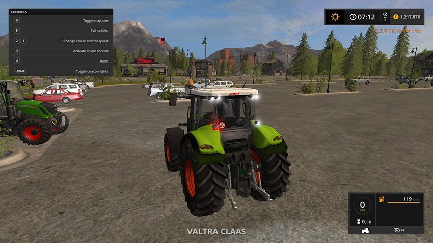 Claas Axion 820 v 1.0